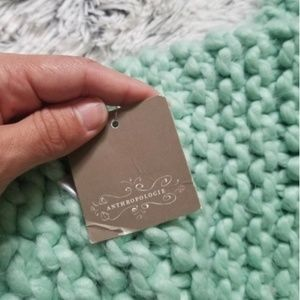 Anthropologie Accessories - Anthropologie scarf mint colored extra long NWT